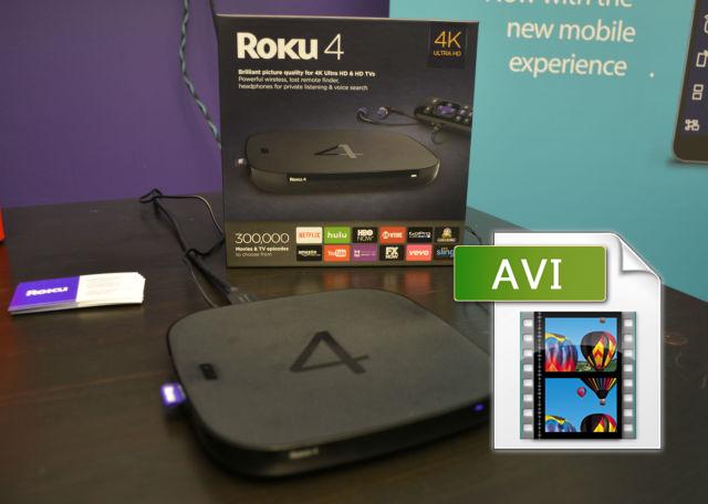 How to convert AVI to play on Roku 4/3/2 via USB | Media